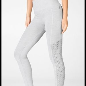Fabletics Sync High Waisted Perforated 7/8 Legging